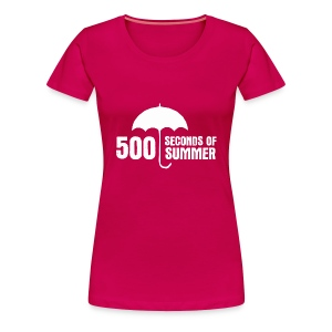 500 Seconds of Summer - Women's Premium T-Shirt