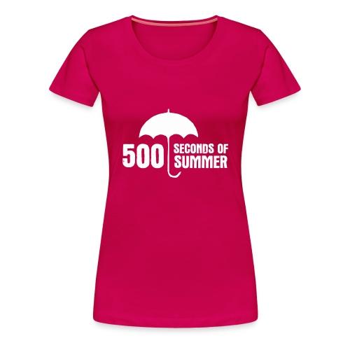 500 Seconds of Summer - Women's Premium T-Shirt