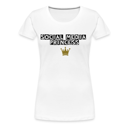 Social Media Princess - Frauen Premium T-Shirt