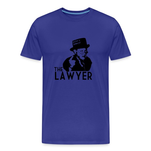 Angry Lawyer - Men's Premium T-Shirt