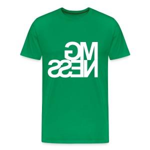 MGness Green White classic - Männer Premium T-Shirt