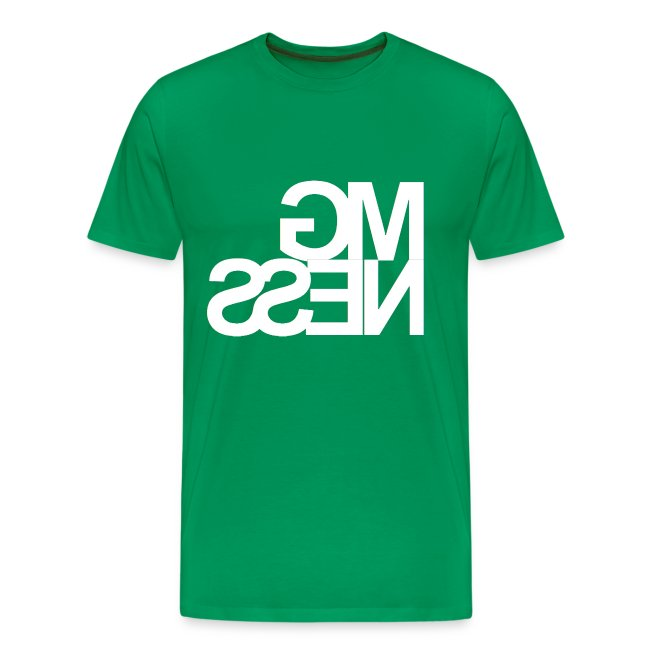 MGness Green White classic