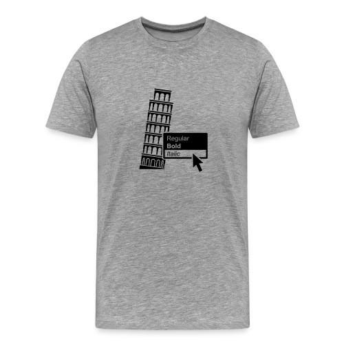 ITALIC - Männer Premium T-Shirt