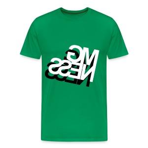 MGness DoubleLogo Kelly classic - Männer Premium T-Shirt