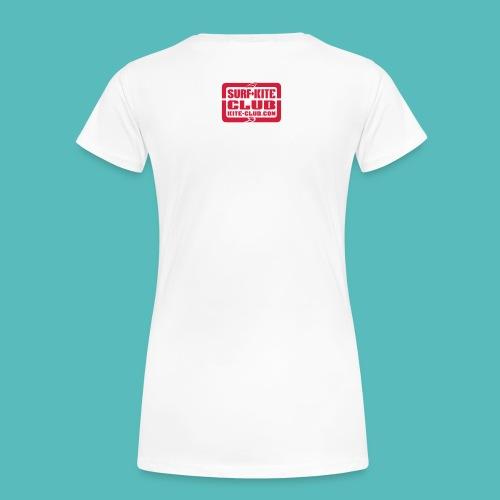 we love kite club zingst - Frauen Premium T-Shirt
