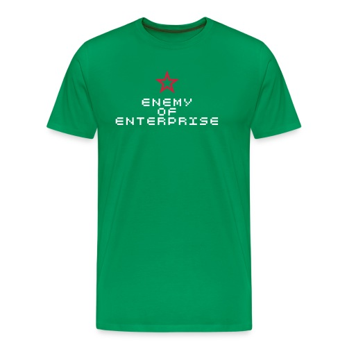 Enemy of Enterprise - Men's Premium T-Shirt