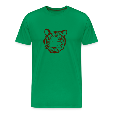 tiger shirt cheetah lion leopard puma cat wild hunting hunter