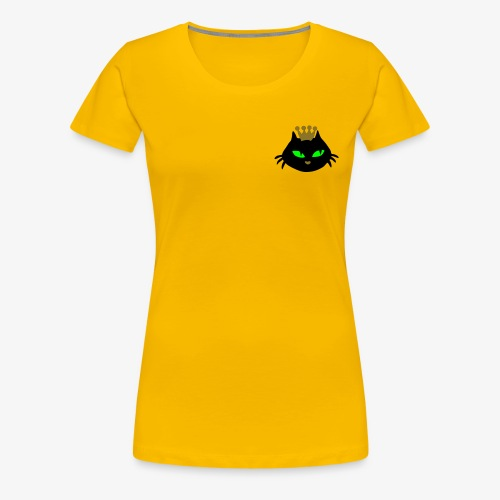 Kattenkop Queenie retro style - Women's Premium T-Shirt