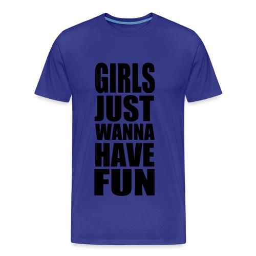 Girls Just... Kranft - T-shirt Premium Homme