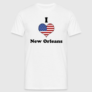 I love New Orleans T-shirts - T-shirt herr