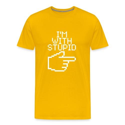 T-Shirt classica con immagine - Maglietta Premium da uomo