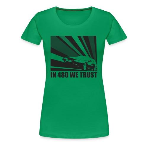 T-shirt Femme enceinte - In 480 we trust - T-shirt Premium Femme