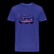 T-Shirts ~ Men's Premium T-Shirt ~ Retro tape t shirt