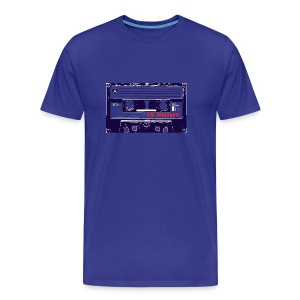 Retro tape t shirt - Men's Premium T-Shirt