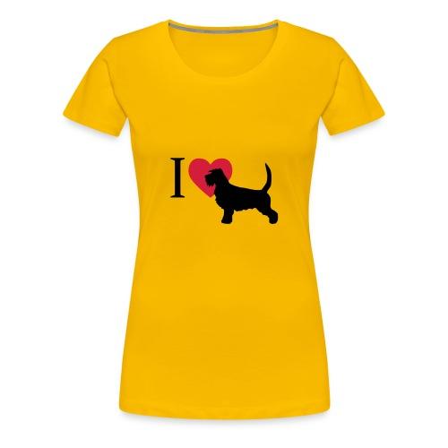 Griffon Vendeen - Frauen Premium T-Shirt