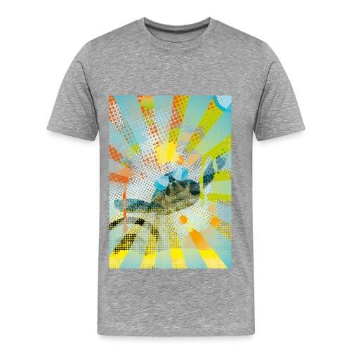 Sunglass Turtle  - Männer Premium T-Shirt