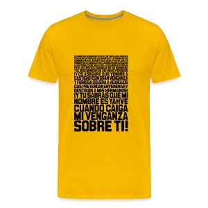 Pulp Fiction: Ezequiel 25:17 - Camiseta premium hombre