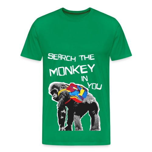 Search the Monkey in you - Männer Premium T-Shirt