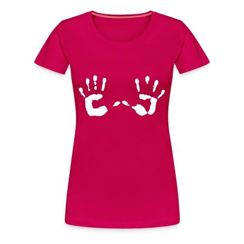 hands - Premium T-skjorte for kvinner