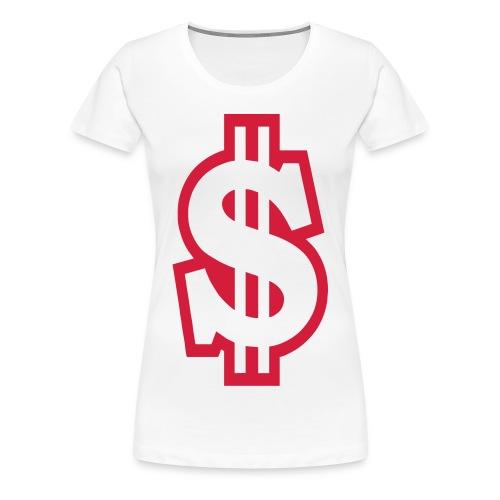 DOLLAR GANGSTA WOMEN - Maglietta Premium da donna
