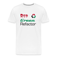 T-Shirts ~ Men's Premium T-Shirt ~ Red Green Refactor
