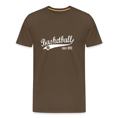 Basketball Slogan - Men's Premium T-Shirt