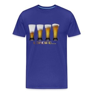 tshirt loading beers by customstyle - T-shirt Premium Homme