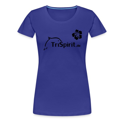 Girlie Shirt Cordula schwarzes Logo - Frauen Premium T-Shirt