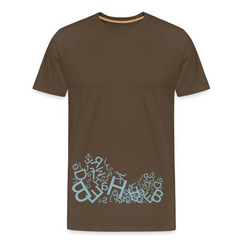 ABC, klassisk tee - Men's Premium T-Shirt
