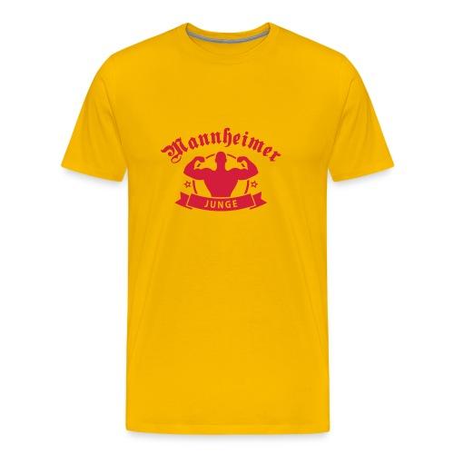 Mannheimer Junge - Männer Premium T-Shirt