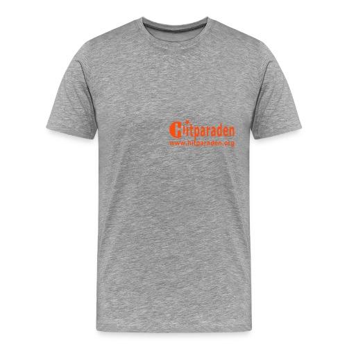 Hitparaden T-Shirt A Beidseitig - Männer Premium T-Shirt