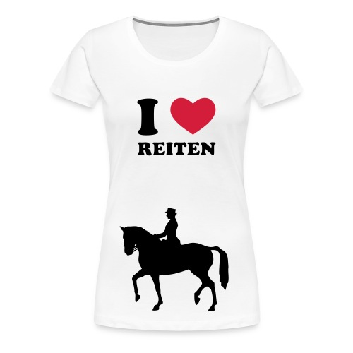 Love Horse - Frauen Premium T-Shirt
