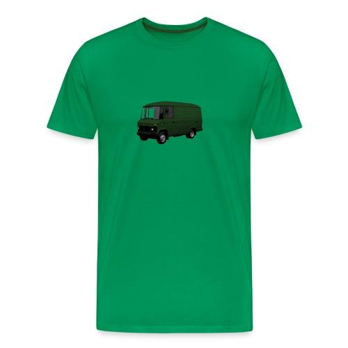 MB508 kort hoog in groen - Mannen Premium T-shirt
