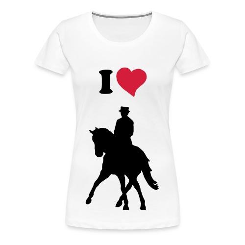Drissur liebe - Frauen Premium T-Shirt