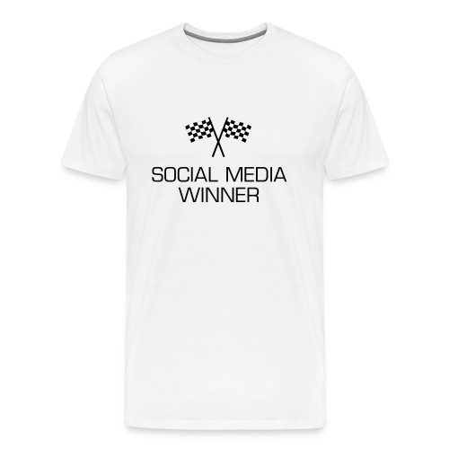 Social Media Winner - Männer Premium T-Shirt