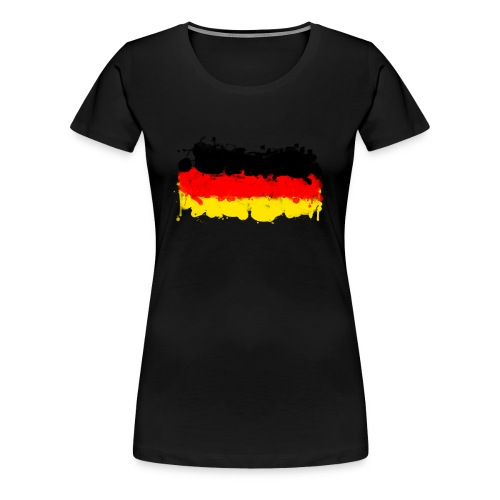 I do a German Basic - Frauen Premium T-Shirt