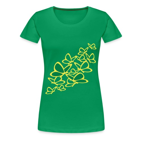 schmetterlinge T-Shirts - Frauen Premium T-Shirt