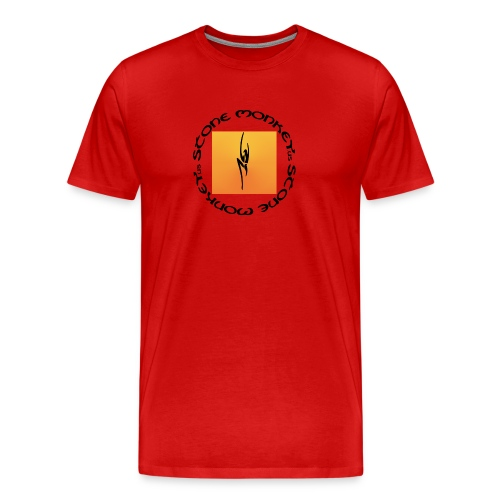 Classic Stone Monkey Climbing Pull Men - Men's Premium T-Shirt