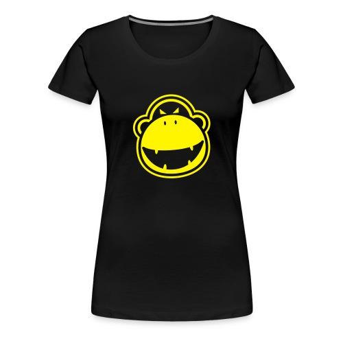 ladies angry monkey t-shirt - Women's Premium T-Shirt