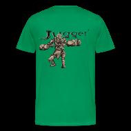 T-Shirts ~ Männer Premium T-Shirt ~ Jugger Q-Tip Endzeit