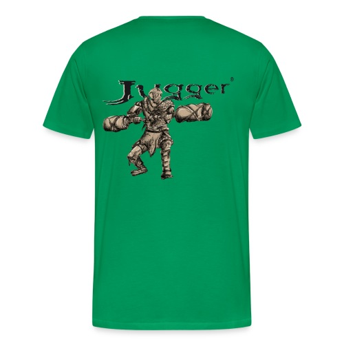 Jugger Q-Tip Endzeit - Männer Premium T-Shirt