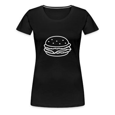 fastfood_hamburger_1c T-Shirts