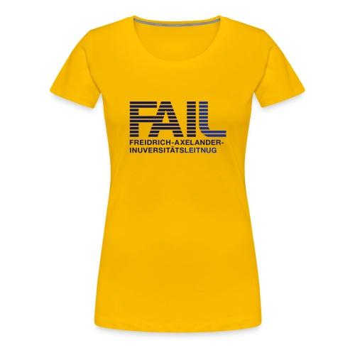FAI-Leitnug - Frauen Premium T-Shirt