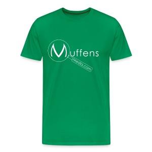 Muffens Media T-Shirt: Green - Men's Premium T-Shirt