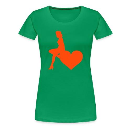 Sit - Girly - Women's Premium T-Shirt