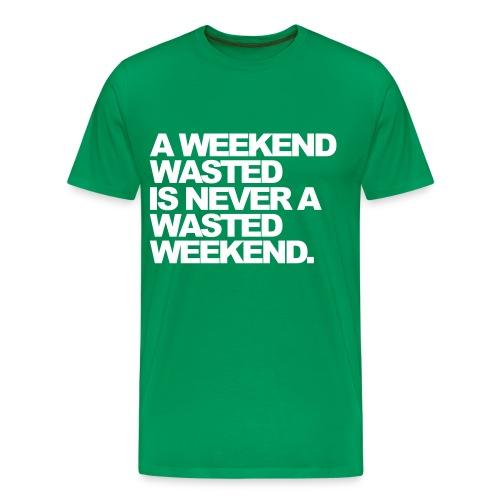 A weekend.. - Men's Premium T-Shirt