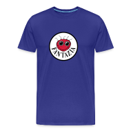 T-Shirts ~ Men's Premium T-Shirt ~ Fantazia round logo Smiley Face T-shirt