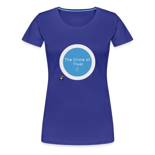 The Circle of Trust. Plus. Ladies - Vrouwen Premium T-shirt