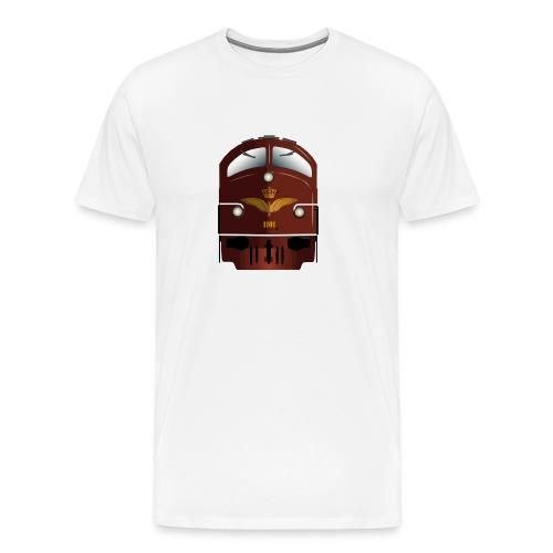 DSB MY 1101 front - Herre premium T-shirt