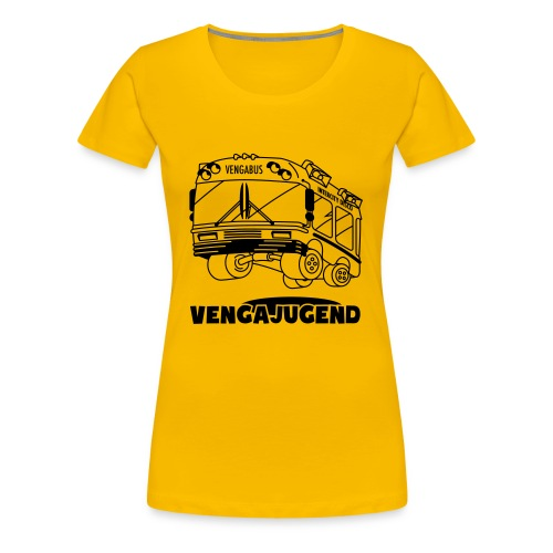 Vengabus (Girlie) - Frauen Premium T-Shirt